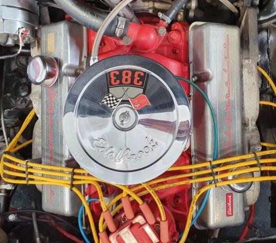 Chevrolet Corvette C2 Sting Ray moteur