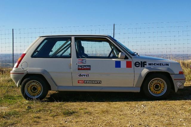 Renault Super 5 GT Turbo côté droit