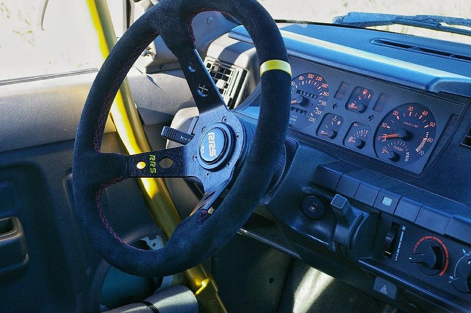 Renault Super 5 GT Turbo intérieur